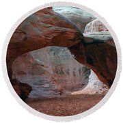 Sand Dune Arch - Arches National Park Round Beach Towel