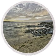 Skerries Ocean View Round Beach Towel
