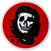 Che Of The Dead Round Beach Towel