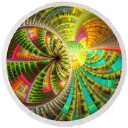 0065 Round Beach Towel