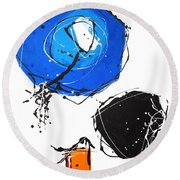 010815 Round Beach Towel