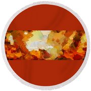 0116 Round Beach Towel