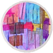 0542 Round Beach Towel by I J T Son Of Jesus