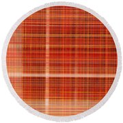 0835 Abstract Thought Round Beach Towel