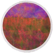 0867 Abstract Thought Round Beach Towel