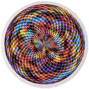 0994 Abstract Thought Round Beach Towel