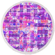 0397 Abstract Thought Round Beach Towel