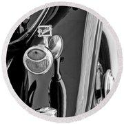 1932 Buick Series 60 Phaeton Taillight Round Beach Towel
