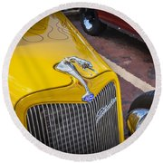1934 Ford Hot Rod Round Beach Towel