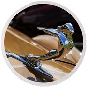 1936 Cadillac Series 75 By Fleetwood Round Beach Towel