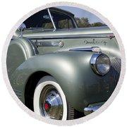 1941 Packard 160 Super Eight Round Beach Towel