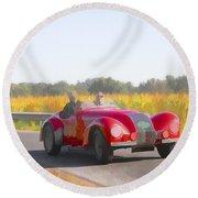 1947 Allard K1 Roadster Round Beach Towel
