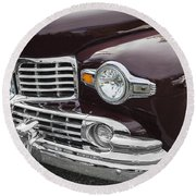 1947 Lincoln Continental Round Beach Towel