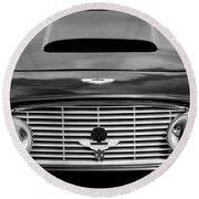 1963 Aston Martin Db4 Series V Vantage Gt Grille Round Beach Towel