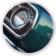 1965 Dodge Coronet Round Beach Towel