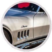 1969 Chevrolet Corvette 427   Round Beach Towel
