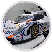 1998 Porsche 911 Gt1 Round Beach Towel