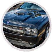 2010 Dodge Challenger Rt Hemi    Round Beach Towel