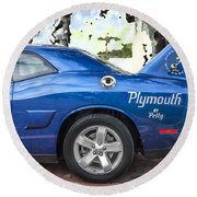2010 Plymouth Superbird  Round Beach Towel