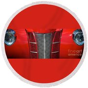 40 Ford Coupe Round Beach Towel
