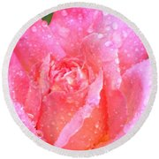 After The Rain Series Round Beach Towel