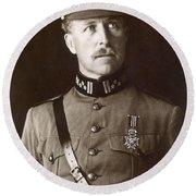 Albert I (1875-1934) Round Beach Towel