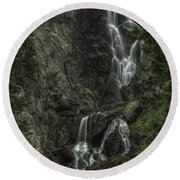 Angel Falls Round Beach Towel