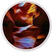 Antelope Canyon - Arizona Round Beach Towel