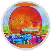 Antique Cars At The Julep Round Beach Towel