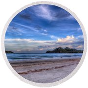 Ao Manao Bay Round Beach Towel