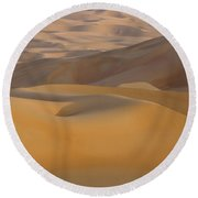 Arabian Sands Round Beach Towel