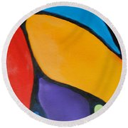 Art By Lyle Round Beach Towel