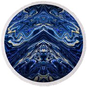 Art Series 1 Round Beach Towel