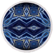 Art Series 5 Round Beach Towel