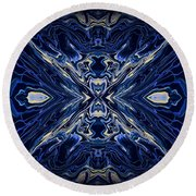 Art Series 7 Round Beach Towel