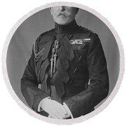 Arthur, Duke Of Connaught (1850-1942) Round Beach Towel