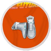 Back To The Future Round Beach Towel