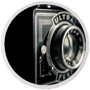 Bakelite Vintage Camera Round Beach Towel