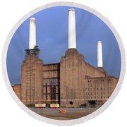 Battersea Power Station Round Beach Towel