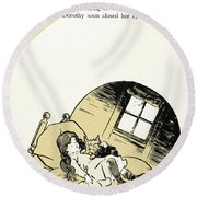 Baum The Wizard Of Oz Round Beach Towel
