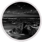 Beach 18 Round Beach Towel