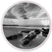 Beach 38 Round Beach Towel
