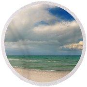 Beach Prerow Round Beach Towel