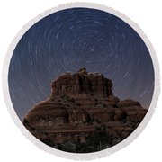Bell Rock Round Beach Towel
