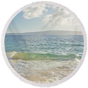 Big Beach Round Beach Towel