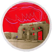Birdcage Theater Number 2 Tombstone Arizona C.1934-2009 Round Beach Towel