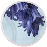 Bluebells 3 Round Beach Towel