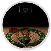 Boston Celtics Round Beach Towel