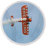 Breitling Wingwalkers Team Round Beach Towel