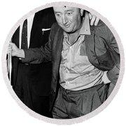 Brendan Behan (1923-1964) Round Beach Towel
